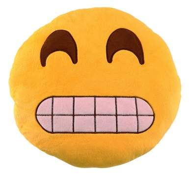 Wantyou Soft Emoji Cushion Cute Emoticon Pillow Comfortable Stuffed Plush Toy Doll