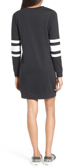 Women's Fire Sweatshirt Dress 5