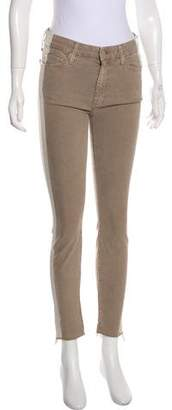 Mother Mid-Rise Skinny Jeans w/ Tags