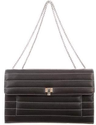 Lambertson Truex Grained Leather Bag