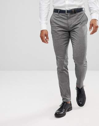 Selected Skinny Smart Trousers With Stretch