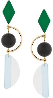 Marni hook earrings