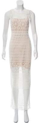 Alice + Olivia Crochet Maxi Dress