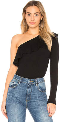 Michael Lauren Gonzola One Shoulder Top