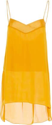 A.N.A ARJÉ Oversized Silk Cami Top