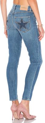 MAJORELLE Bowie Jeans $198 thestylecure.com