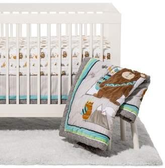 Trend Lab 3pc Crib Bedding Set - Lodge Buddies