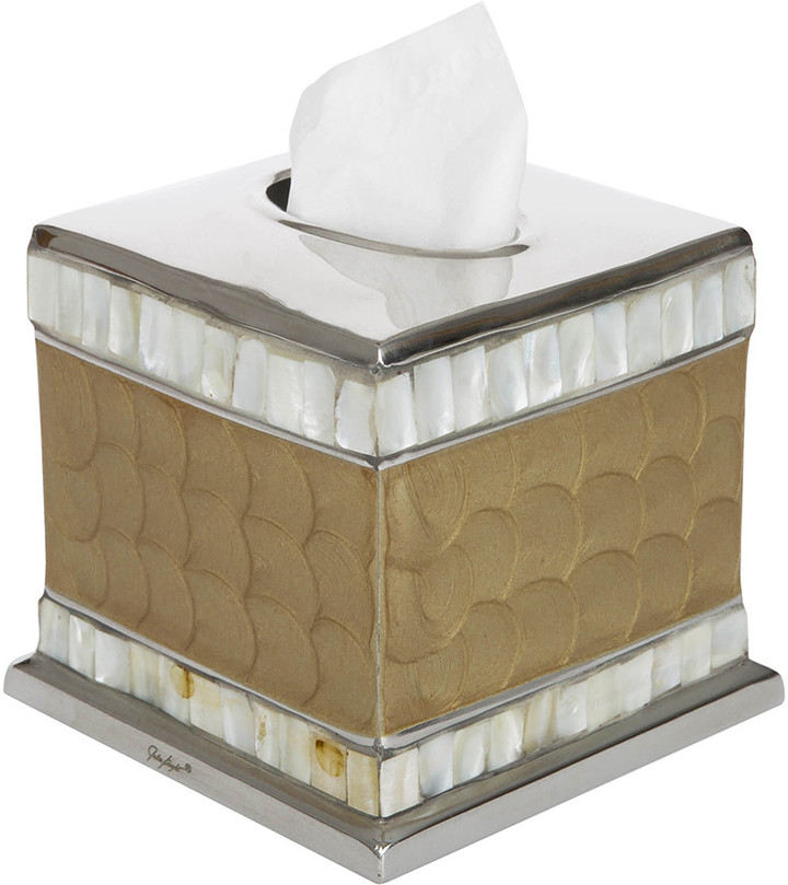 Classic Tissue Box - Toffee