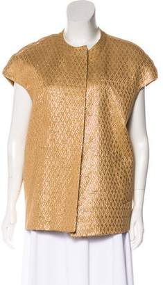 Marni Tweed Short Sleeve Jacket