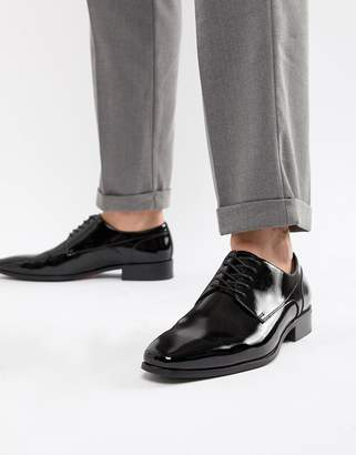 Aldo Bussum lace up shoes in patent black