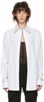 Kiki de Montparnasse White Boyfriend Shirt