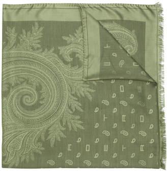 Etro paisley jacquard scarf