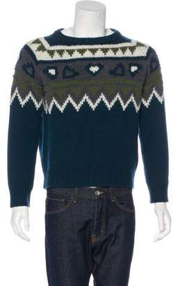 Burberry Wool & Cashmere Blend Sweater