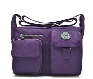 371c310d0b Outreo Women Messenger Bag Girls Satchel Shoulder Bag for Travel Casual  Sport Waterproof Cross Body Side