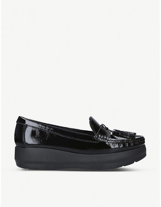 Carvela Comfort Camille patent-leather loafers