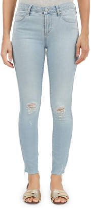 Articles of Society Carly Skinny Cropped Distressed Jeans