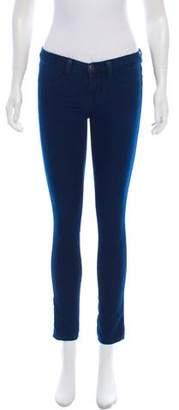 J Brand Low-Rise Skinny Pants