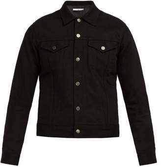 Givenchy Logo Stripe Denim Jacket - Mens - Black