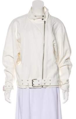 IRO Textured Zip-Up Jacket