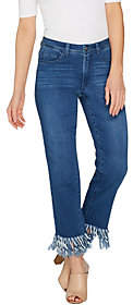 Women with Control Regular My Wonder DenimFringe Jeans