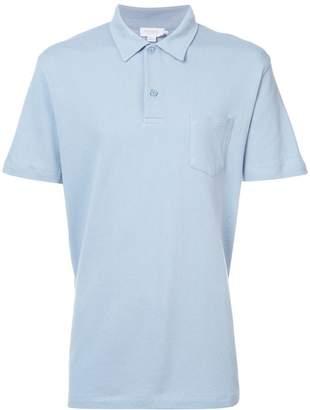 Sunspel chest pocket polo shirt