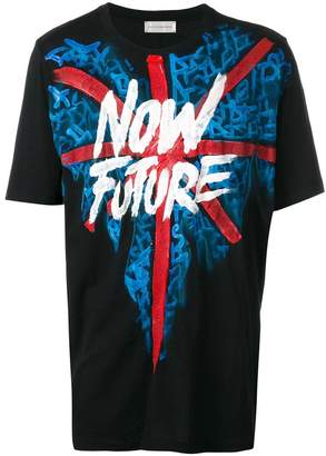 Faith Connexion hand-painted Now Future T-shirt