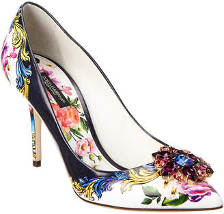 Dolce & Gabbana Bellucci Leather Pump