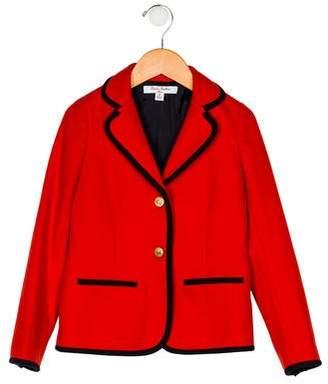 Brooks Brothers Girls' Wool-Blend Blazer