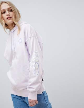 Converse Cons Skate Boarding Hoodie In Lilac