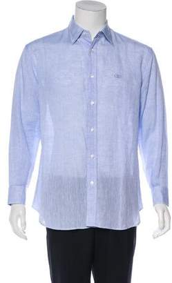 Salvatore Ferragamo Gancini Button-Up Shirt