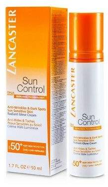 Lancaster NEW Sun Control Face Radiant Glow Cream SPF 50+ 50ml Womens Skin Care