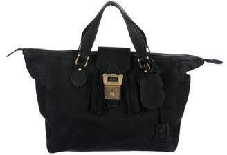 Gucci Goldmark Nubuck Travel Bag