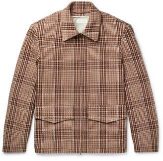 Dries Van Noten Checked Cotton-Blend Tweed Jacket