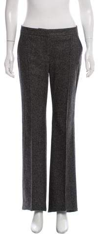 Christian Dior Wool Mid-Rise Pants w/ Tags