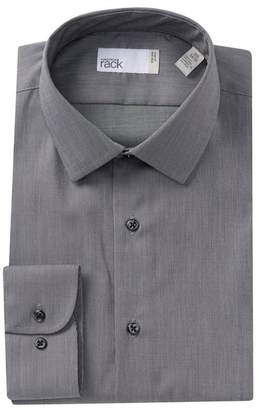 Nordstrom Rack Solid Trim Fit Dress Shirt