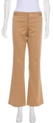 Gucci Low-Rise Flared Pants Tan Low-Rise Flared Pants