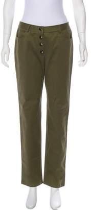 Jenni Kayne Mid-Rise Straight-Leg Pants w/ Tags