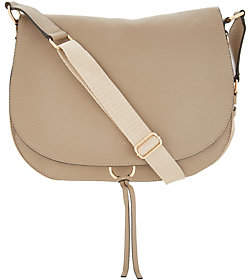 Vince Camuto Leather Shoulder Bag - Barna
