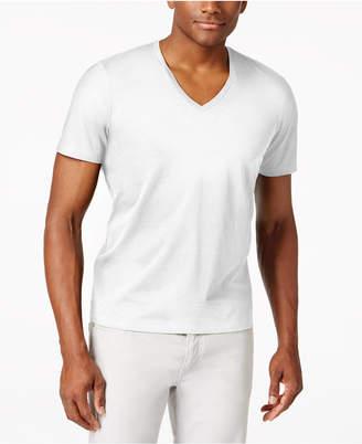 INC International Concepts I.n.c. Men's V-Neck Polished T-Shirt