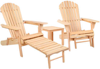 Dwell Outdoor 2 Seater Outdoor Patio Chair & Table Set