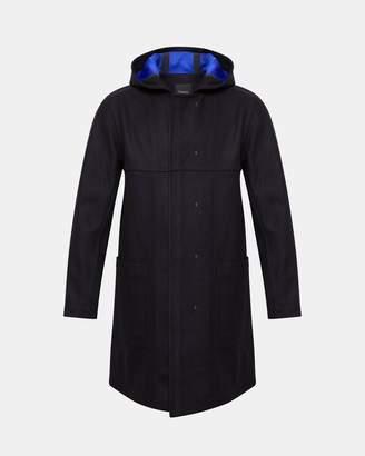 Theory Bonded Wool Melton Crosby Coat