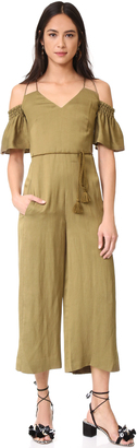 Whistles Yasmin Strappy Jumpsuit $349 thestylecure.com