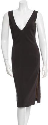Hugo Boss Sleeveless Midi Dress w/ Tags $110 thestylecure.com