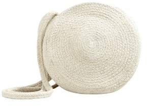 MANGO Jute cross-body bag