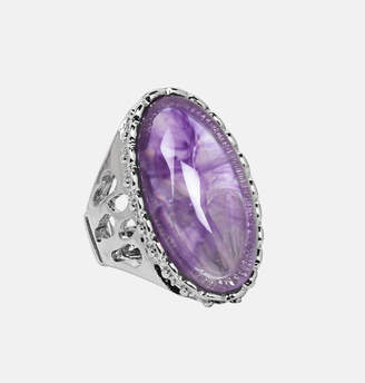 Avenue Oval Stone Stretch Ring