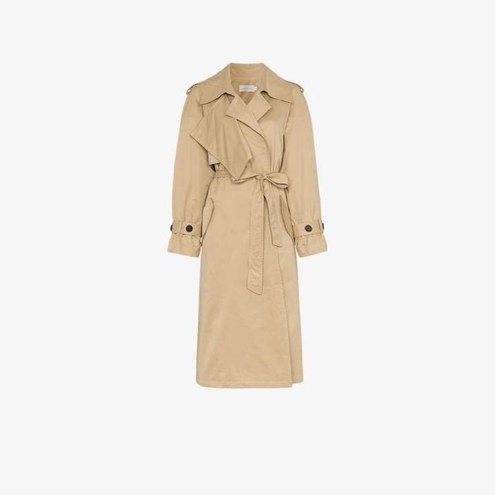Low Classic wing sleeve trench coat