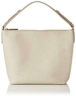 LK Bennett Millie Ivory Leather Shoulder Bag