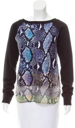 Diane von Furstenberg Printed Lisha Sweatshirt