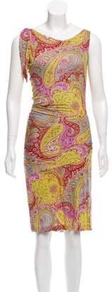 Etro Printed Sleeveless Dress