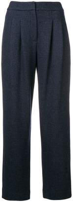 Emporio Armani (エンポリオ アルマーニ) - Emporio Armani high-waisted trousers